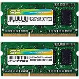 SP シリコンパワー ノートPC用メモリ 4GB×2枚組 DDR3-1600 PC3-12800 SO-DIMM (無期限保証) SP008GBSTU160N22