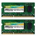 シリコンパワー ノートPC用メモリ DDR3 1600 PC3-12800 4GB×2枚 永久保証…