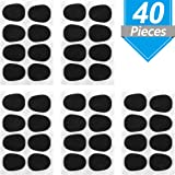 Onown 40 Pieces Alto/Tenor Saxophone and Clarinet Mouthpiece Cushion Food-Grade Sax Mouthpiece Patches Pads Cushions 0.8 mm Thick Rubber Strong Adhesive (Color: Alto/Tenor Saxophone and Clarinet Mouthpiece Cushion Food-Grade Sax Mouthpiece Patches Pads Cushion, Tamaño: Alto/Tenor Saxophone Clarinet Mouthpiece Pads)