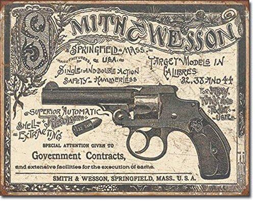 smith-wesson-revolvers-tin-signs-gun-vintage-tin-signs-retro-metal-signs-2014