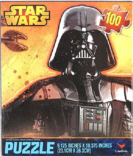 Star Wars Darth Vader Art Scene 100pc Puzzle - 1