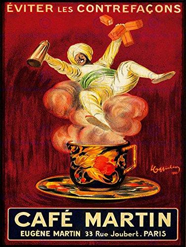 advert-cafe-martin-coffee-arab-turban-steam-cup-paris-france-poster-affiche-30x40-cm-12x16-in-bb7795