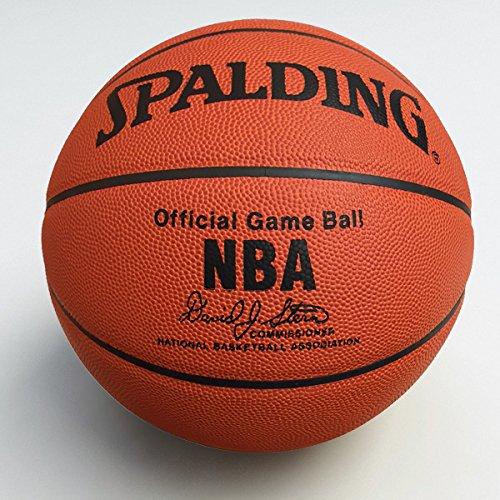 Palla da basket ufficiale NBA (Official Game Ball NBA) di Spalding - Misura 7 - Prodotto Originale