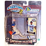 NOLAN RYAN / TEXAS RANGERS 2001 MLB Cooperstown Collection Starting Lineup 2 Action Figure & Exclusive Trading Card ~ Starting Line Up