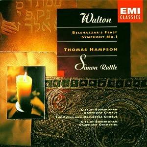Amazon.com: Walton: Belshazzar's Feast / Symphony No. 1: Walton ...
