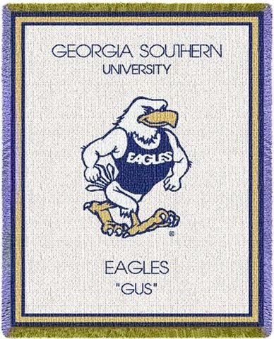 Georgia Southern University Eagles Baby Blanket Throw 35X48 [Misc.]