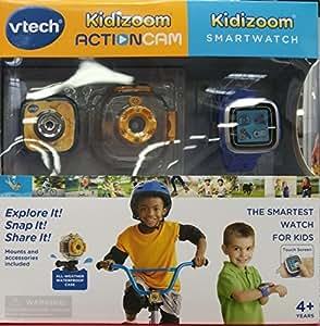 Vtech Kidizoom Smartwatch Plus Action Cam Bundle For Boys