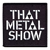 That Metal Show: Logo Iron-On Patch