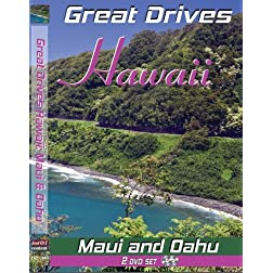 Great Drives: Hawaii-Maui: Hana Highway, Haleakala National Park-Oahu: Waikiki, deserted beaches, beautiful little offshore islands, hidden waterfalls and country towns