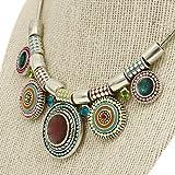 Choker-Necklace-Multicolor