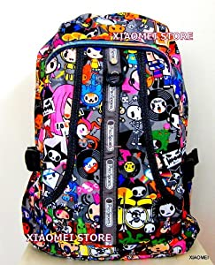 XIAOMEI Colourful Cartoon A4 Backpack 8130J for Travel, Holiday, School or College by XIAOMEI
