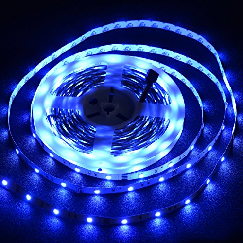 Color Changing Led Light Strips: Rope Lights LED Strip Lighting 300LEDs Flexible Color