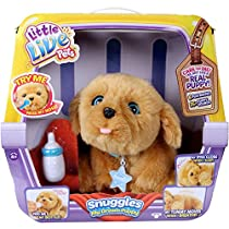 LITTLE LIVE PETS SNUGGLES , CUDDLY ,HUGGABLE LITTLE PUPPY