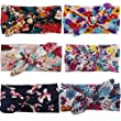 Jastore® 6Pcs Cute Baby Girl Turban Headband Kids Hair Bows Hair Accessories