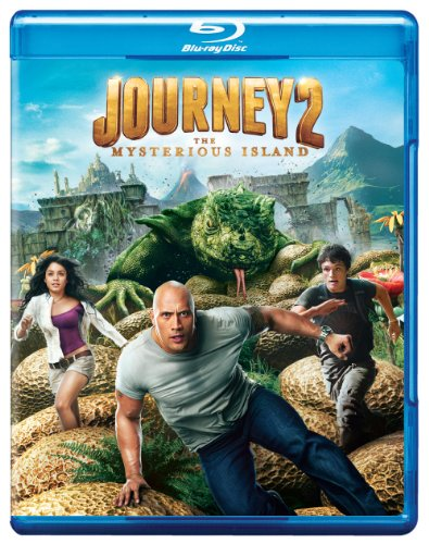 Cover art for  Journey 2: The Mysterious Island (+ UltraViolet Digital Copy) [Blu-ray]