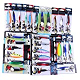 Laimeng, Fishing Lures Metal Spinner Baits Crankbait Assorted Fish Tackle