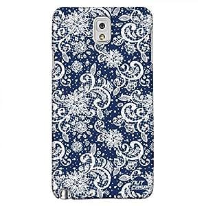 Designer Samsung Galaxy Note 3 Cover Nutcase -Ruler Black & White