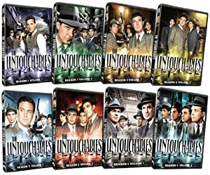 The Untouchables: The Complete Series Pack (Complete Seasons 1-4)