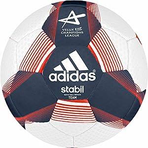adidas Stabil Team 7 Handball (Größe: 3 (Herren), rich blue f14/white/infrared)
