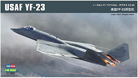 "HobbyBoss échelle 1: 48""US yf-23Prototype Kit de montage"
