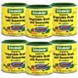 Seitenbacher Vegetarian Vegetable Broth and Seasoning, 5-Ounce Cans (Pack of 6)