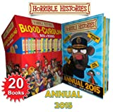 Terry Deary Blood Curdling Horrible Histories 20 Books Box Set 2015 Annual Book Collection