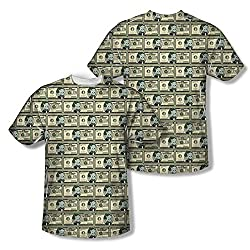 Richie Rich Millions All Over Print Front / Back T-Shirt