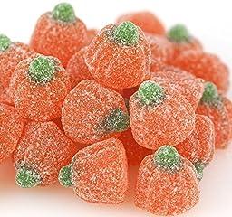 Orange Jelly Pumpkin Shaped Candy, Autumn, Halloween Bulk 4 Pounds