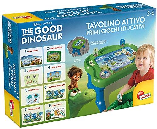 Lisciani Giochi 52776 - The Good Dinosaur Tavolino Attivo, Multicolore