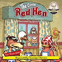 The Little Red Hen: Sommer-Time Story Classic, Book 8 (       UNABRIDGED) by Carl Sommer Narrated by Carl Sommer