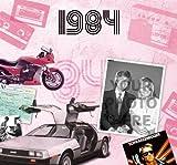 28. Geburtstag Geschenke – 1984 Chart Hits CD und 1984 Geburtstagskarte