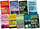 Jonathan Kellerman Jonathan Kellerman 9 Books Collection Pack Set RRP: £71.91 (When The Bough Breaks, The Web, Flesh and Blood, A Cold Heart, Twisted, Blood Test, Survival of the Fittest, Bones, Doctor Death)