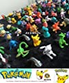Pokemon Mini Action Figures 72 Pcs Set Pokemon Monster Toys Set
