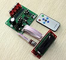 Lc75342 4 Source Input Remote Volume Preamplifier Board Kit