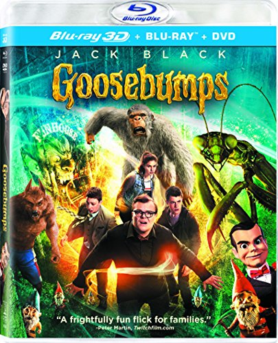 Blu-ray 3D : Goosebumps (With DVD, Ultraviolet Digital Copy, 3 Pack, Dolby, AC-3)