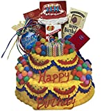 Happy Birthday Cake Gift Bag Tote of Sweets and Treats