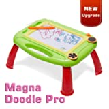 Matesy Kids Toys for 2-4 Year Old Boys, Toddler Magnetic Doddle Board Drawing Toys for Kids Age 1 2 3 Year Old Boys Gifts Age 2 3 Christmas Birthday Gifts for 3 4 2 Year Old Boys Toys Age 4 Year Old (Color: green)