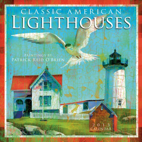 Classic American Lighthouses  2013 Wall (calendar)