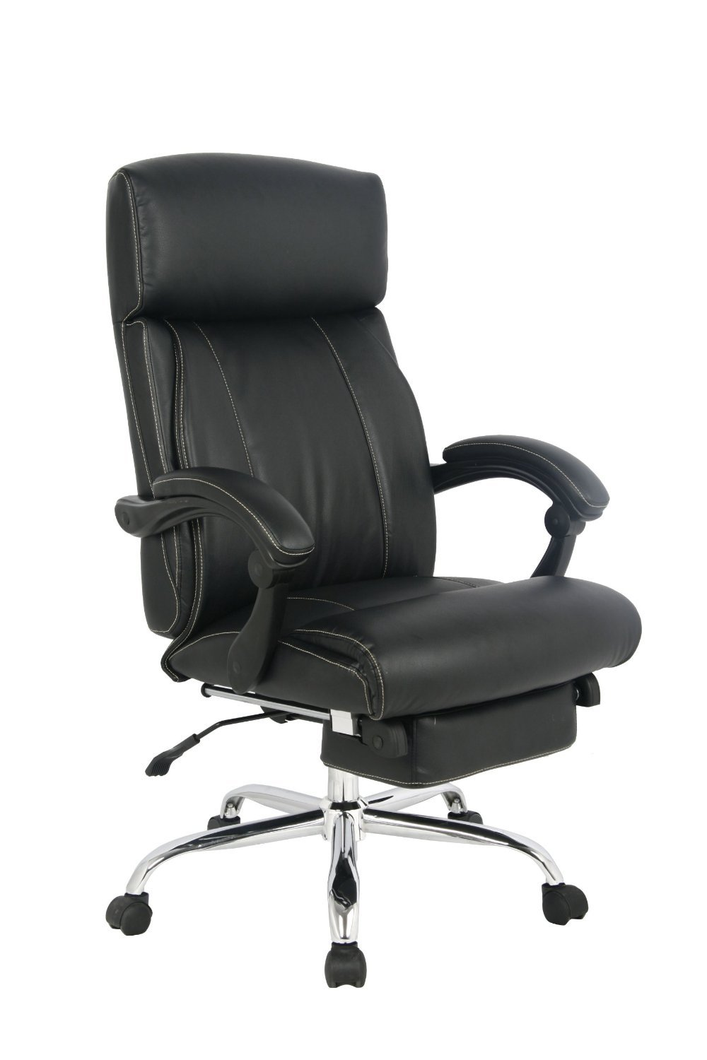 VIVA OFFICE® Latest High back ergonomic bonded leather recliner swivel napping chair, adjustable multifunction office chair Executive and Managerial Chair with padded headrest and armrest – VIVA 08501