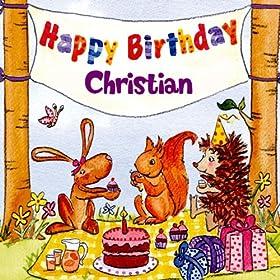 Amazon.com: Happy Birthday Christian: The Birthday Bunch