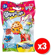 Shopkins Clip On Plush Hanger Figures Mystery Pack 3x Packs