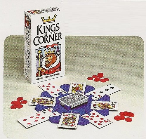 Kings in The Corner Game (1996 Edition) (Kings In The Corner Card Game compare prices)