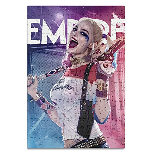 KIDDOS Personalized Picture Print Harley Quinn 120 Piece Jigsaw Puzzle (50s Tattoos)