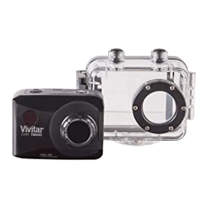 Vivitar Action Camcorder 2.0  W/12MP, DVR786HD-BLK-TA (Color: Black)