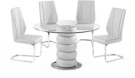 Majuba White Dining Table