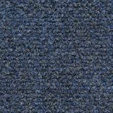 Indoor/Outdoor Carpet with Rubber Marine Backing - Blue 6' x 10' - Several Sizes Available - Carpet Flooring for Patio, Porch, Deck, Boat, Basement or Garage