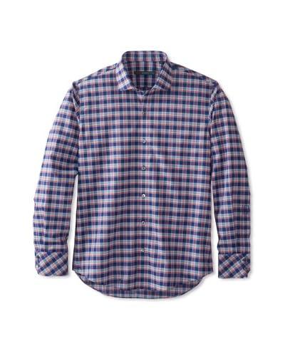Zachary Prell Men's Tristan Checked Long Sleeve Shirt