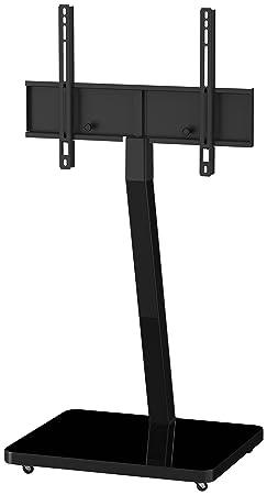 Sonorous PL 2700-BLK-HBLK-W LED-Fernseher Standfuß mit Rollen schwarz