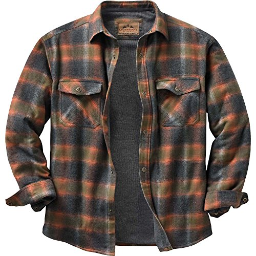 Legendary Whitetails Men's Archer Thermal Lined Shirt Jacket Tobasco Plaid Large Tall (Quilted Thermal Jacket compare prices)