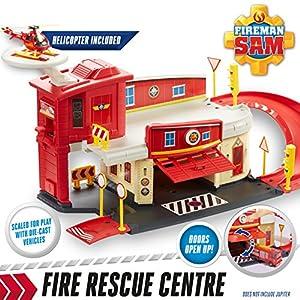 Fireman Sam Fire Station Die-Cast Playset